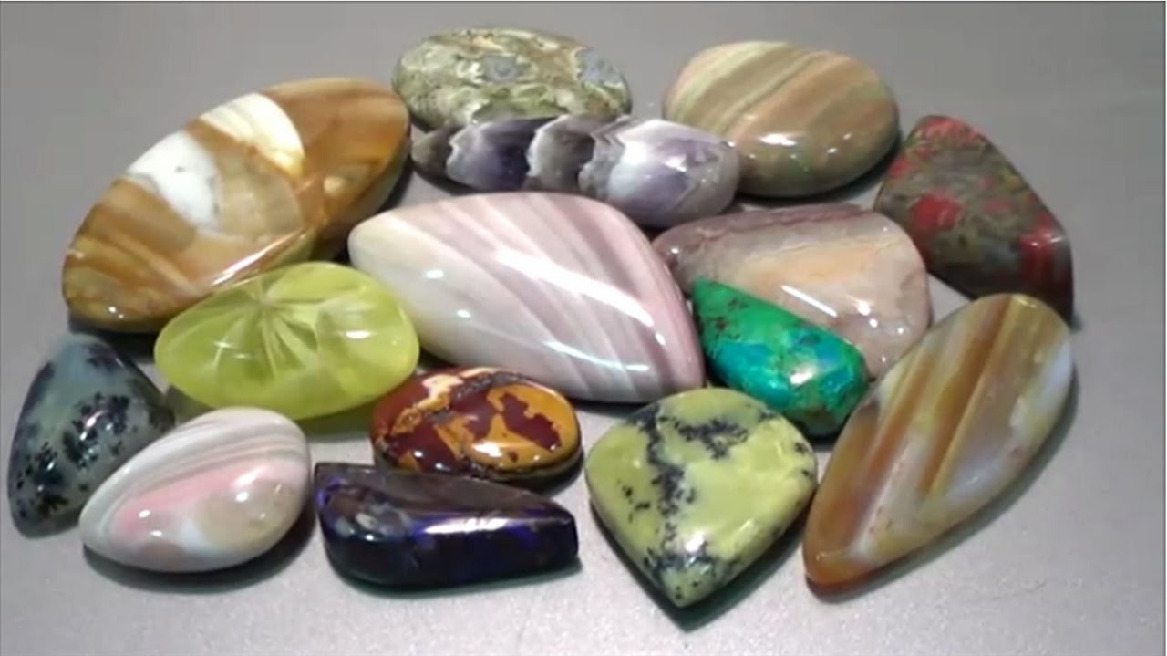 how to cut and semi precious gemstone ribbonstone