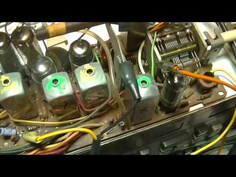 Vintage GE Table Radio FM Repair