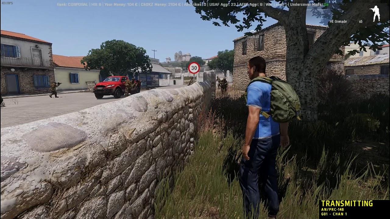 ITC C2 - ArmA 3 Antistasi - Traitor Assassination