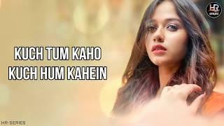 Lyrical    Kuch Tum Kaho - Jannat Zubair   Jyotica Tangri   HR-Series