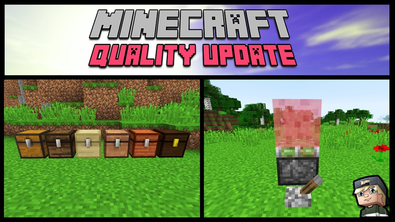 OMG! These Features MUST Be Added to Minecraft! (Minecraft Quality Update)