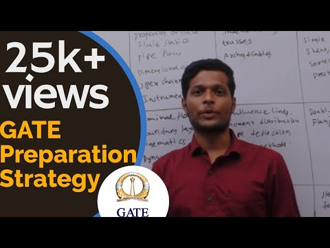 GATE PREPARATION STRATEGY(CIVIL ENGINEERING)