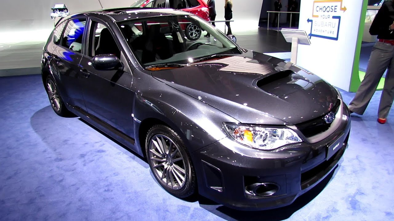 2013 subaru impreza wrx hatchback exterior and interior 2013 subaru impreza wrx hatchback exterior and interior walkaround 2013 detroit auto show youtube vanachro Images