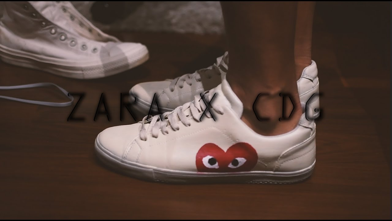 Zara x CDG Custom - YouTube a7208dd3d