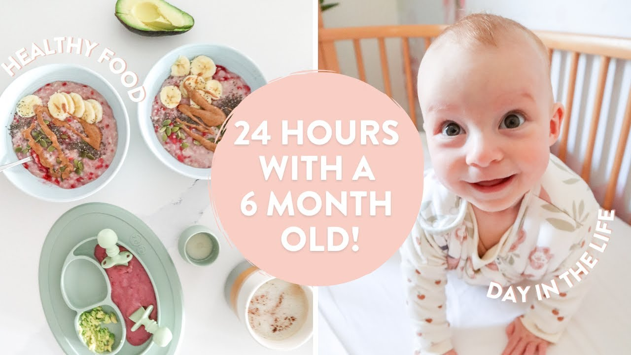 24 HOURS WITH A 6 MONTH OLD | What a Day In the Life *REALLY* Looks Like