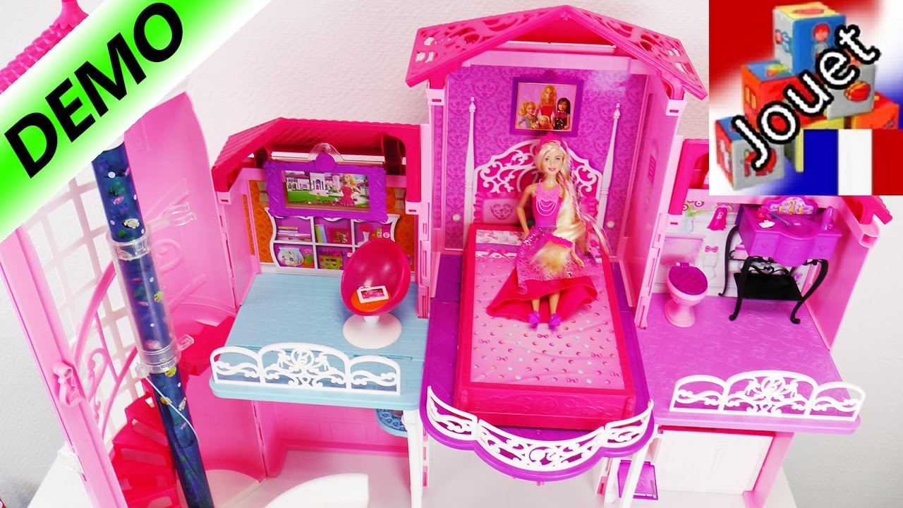 maison de r ve barbie avec un escalier en colima on une coque de smartphone youtube. Black Bedroom Furniture Sets. Home Design Ideas