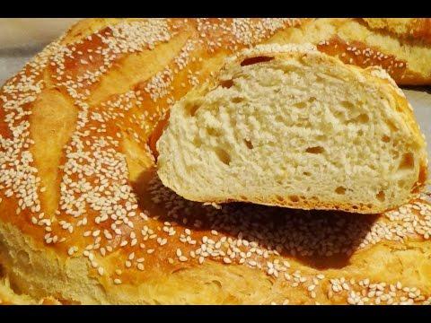 Hleb ili kruh sa kiselim jogurtom