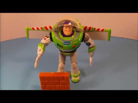 TOY STORY BUZZ LIGHTYEAR KARATE CHOP ACTION disney Pixar toys 4 Woody