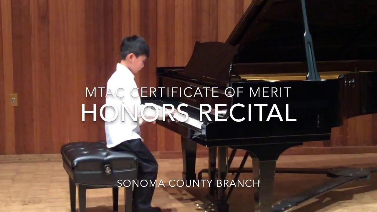 2016 mtac certificate of merit honors recital youtube 2016 mtac certificate of merit honors recital xflitez Images