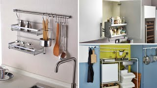 12 Space Saving Ideas for Small Kitchens