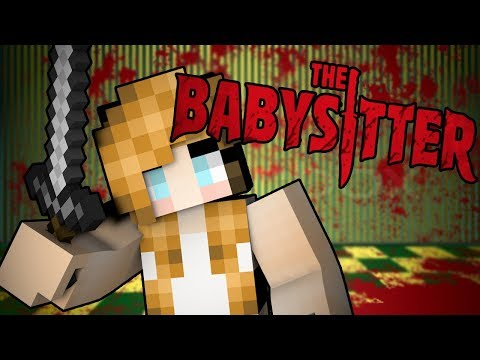 Minecraft The Babysitter - BABYSITTER TRYING TO KILL ME!! | Minecraft Scary Roleplay