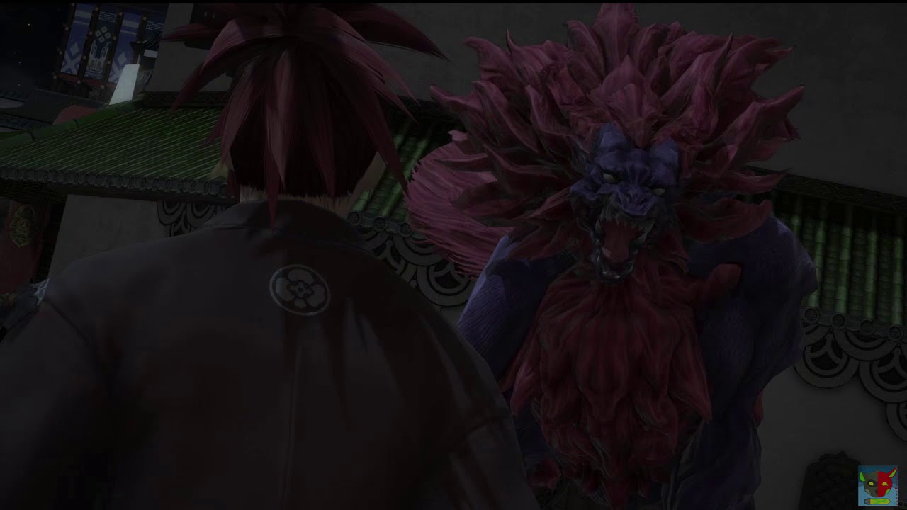 Final Primal mount of Stormblood : ffxiv