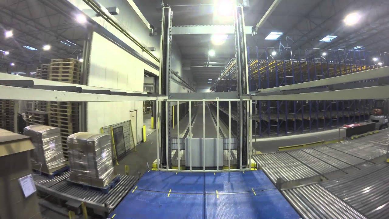 D 252 Cker Finished Goods Storage System Youtube