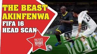The BEAST Akinfenwa | FIFA 16 head scan