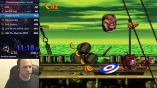 Donkey Kong Country 2 Speedrun (Any%) - 45:47