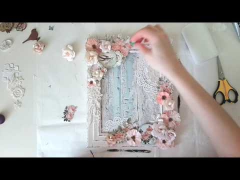 Wedding Shabby chic  Photoframe