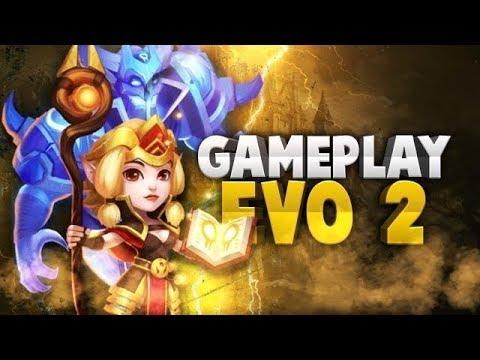 Espirita Gameplay Evo2 10/10 Castle Clash | Castillo Furioso