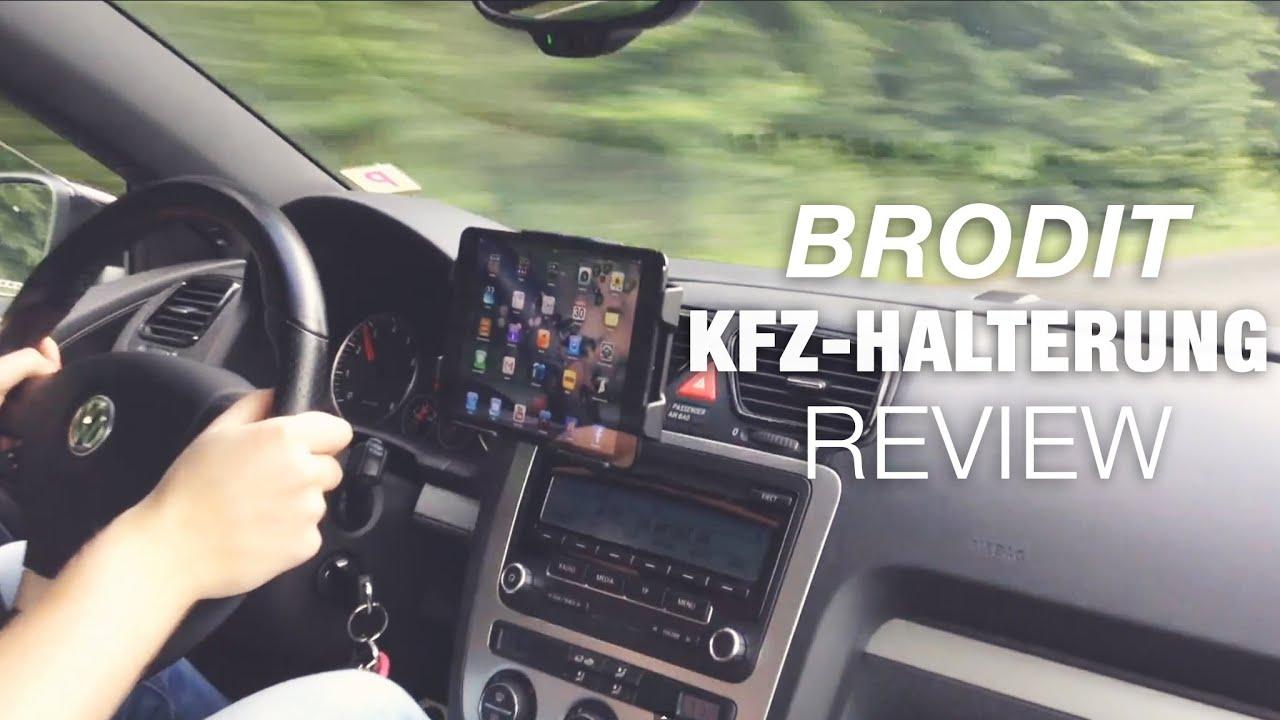Brodit Ipad Mini Kfz Halterung Test Review Deutsch