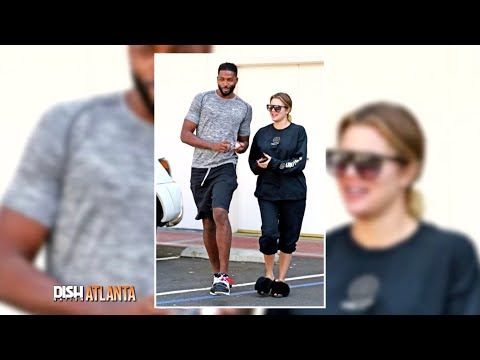 KHLOE KARDASHIAN SPOTTED WITH TRISTAN THOMPSON AFTER CHEATING SCANDAL