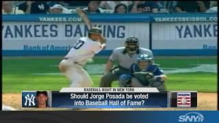 Is Jorge Posada worthy of the Baseball Hall of Fame?