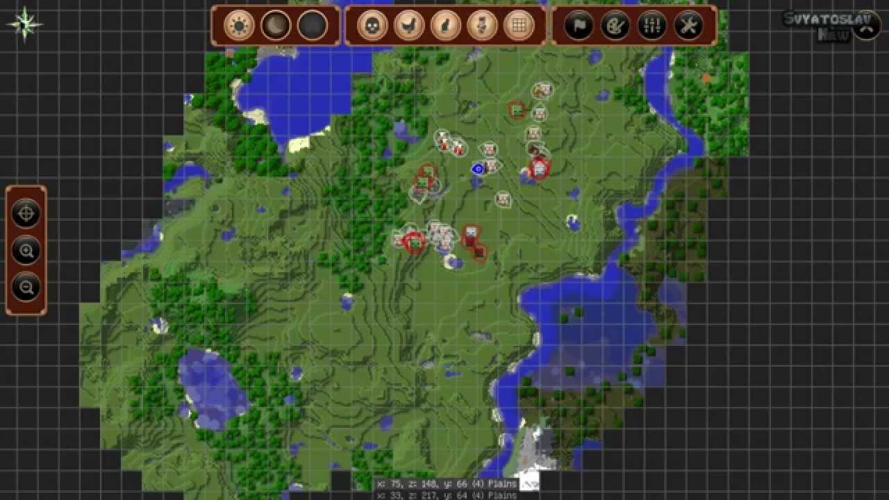 Мод на Карту для Майнкрафт