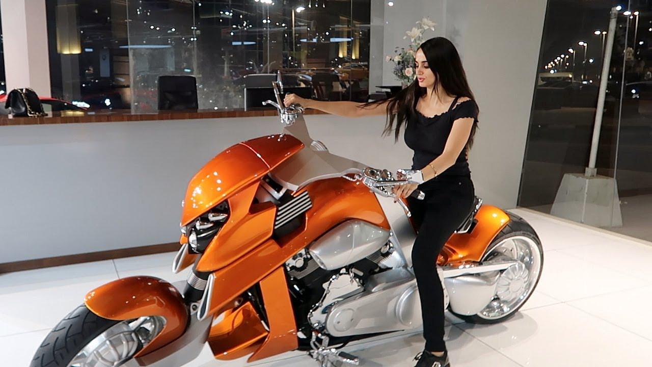 Riding My First Motorbike Biker Girl Youtube