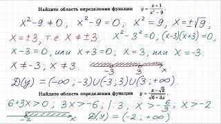 Функции и их свойства #3