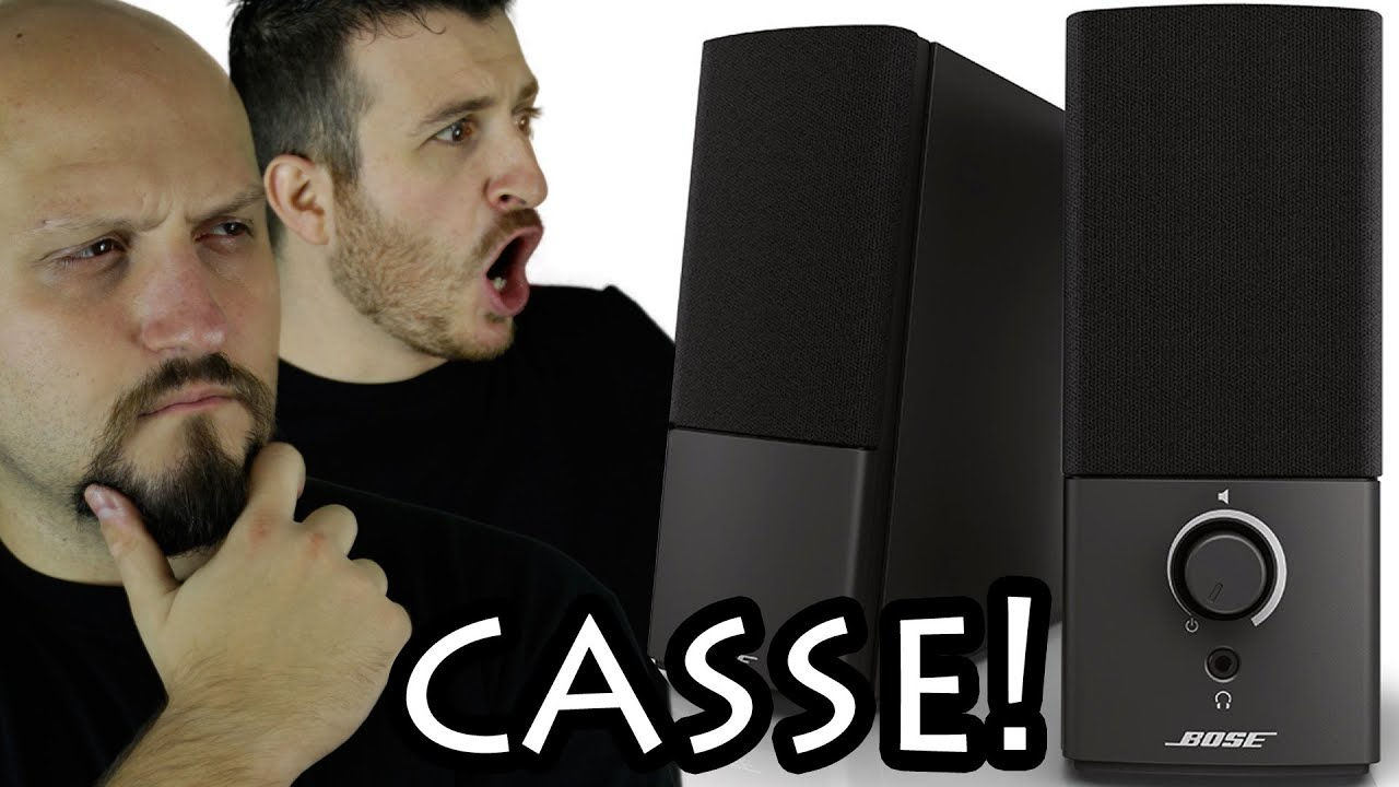 Un paio di casse bose super potenti per pc youtube for Casse bose per tv