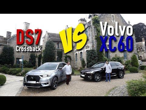 DS7 Crossback vs Volvo XC60 (2017) : première confrontation
