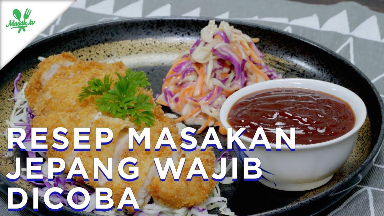 Resep Masakan Jepang WAJIB DICOBA
