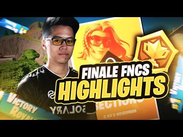 FINALE FNCS (Highlights) ► SQUAD NYHROX | E11 ITEMM | ZINO