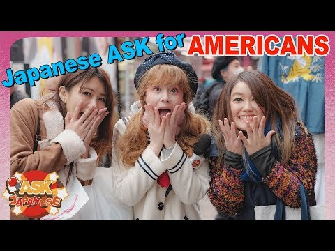 WHY AMERICA?!? Questions JAPANESE want to ask AMERICANS