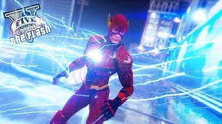 The Justice League Flash ! Slow Time and Suit Up ! (Ultimate Flash Mod Gameplay)
