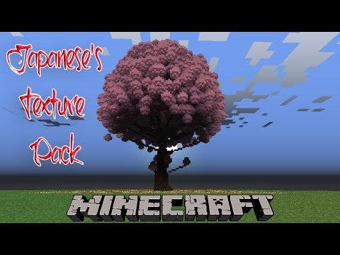 Using Japanese S Texture Pack In Minecraft For A Cherry Blossom Season And Go Picnic With Me Youtube