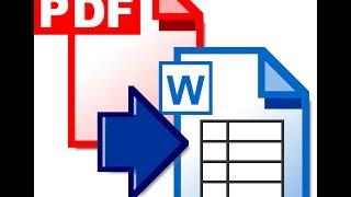 Cara Merubah File PDF ke Ms Word Terbaru