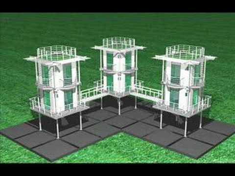 MIBS Prefab - Modular Impermanent Building System