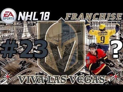 "NHL 18: Vegas Golden Knights Franchise #23 ""HUGE FREE AGENCY"""