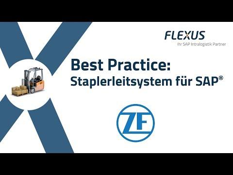 Transportleitsystem (Staplerleitsystem) für SAP bei der ZF Friedrichshafen AG (Umformtechnik)