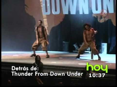 Thunder from Down Under strippers found gunman