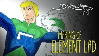 Making of ELEMENT LAD | Daniel HDR Art