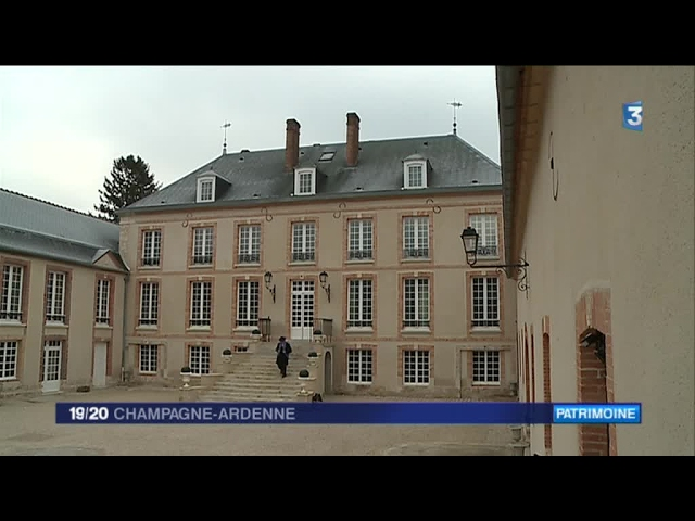 Présentation du Château de Pierry dans la Marne