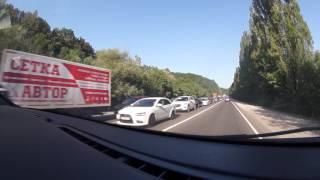 Пробки на трассе Краснодар - Джубга