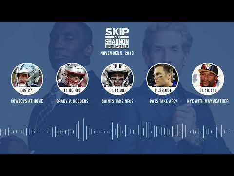 UNDISPUTED Audio Podcast (11.05.18) with Skip Bayless, Shannon Sharpe & Jenny Taft | UNDISPUTED