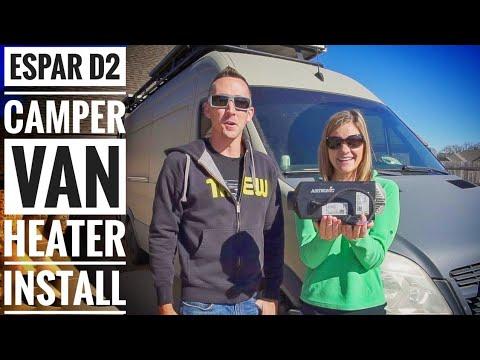 Espar D2 Diesel Heater Installation in a DIY Camper Van - #Vanlife | Adventure in a Backpack