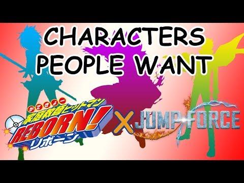 CHARACTERS PEOPLE WANT: KATEKYO HITMAN REBORN! | JUMP FORCE Predictions