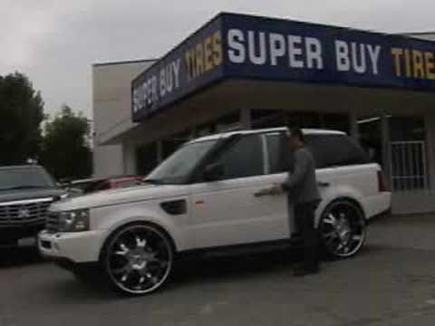 Range Rover On 26 Inch Asanti Af143 Youtube
