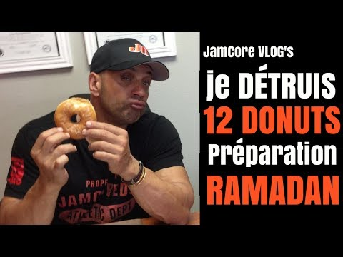 JamCore Vlog : Je Mange 12 Donuts ..Préparation Ramadan ( Je Vous montre)