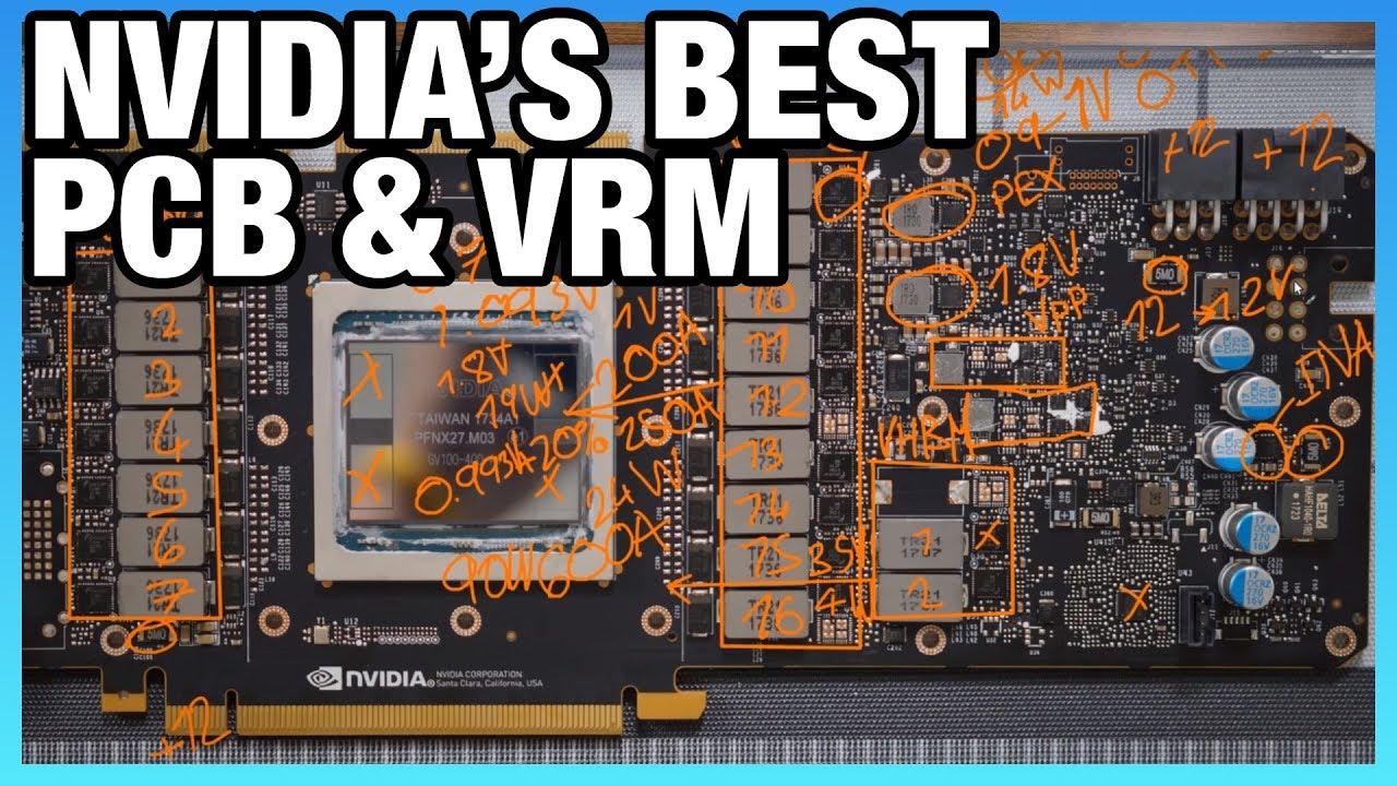 NVidia's 16-Phase Titan V VRM Analysis & Shunt Mod Guide