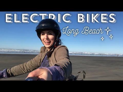 riding-electric-bikes-in-long-beach-washington