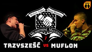 MUFLON vs TRZY SZEŚĆ @ Microphone Masters 7 @ freestyle battle